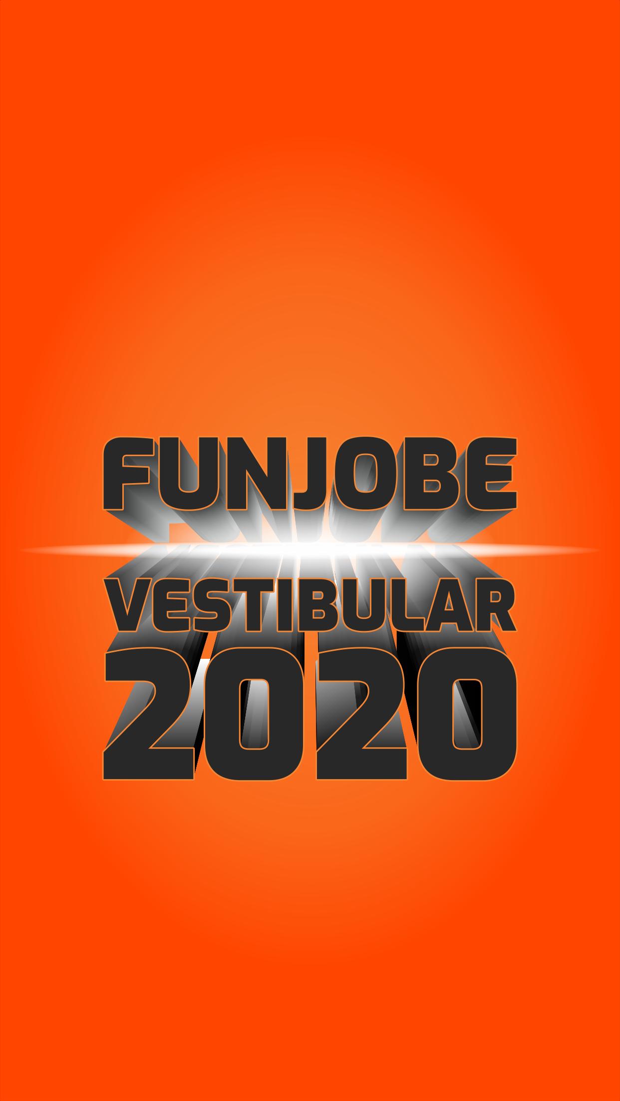 FUNJOBE VESTIBULAR 2020
